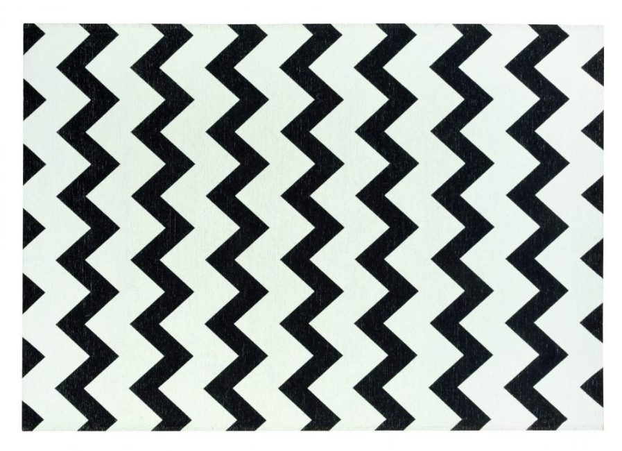 Carpet - Amsterdam Scandinavian - Black/white - Simple Clean / souvenir